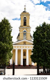 Gomel, Belarus. Cathedral Peter and Paul Cathedral. Orthodox religious building, located in the Park of Gomel, part of the Gomel Palace and Park ensemble.