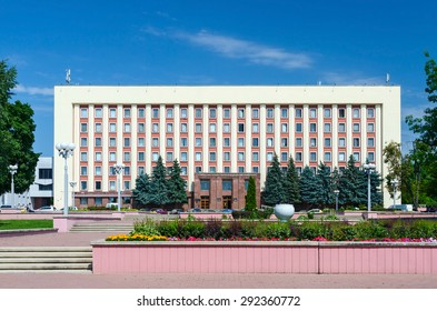 GOMEL, BELARUS - JUNE 25, 2015: Gomel State Medical University, main building, Street Lange 5