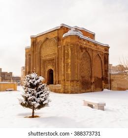 Gonbade Alavian in Hamadan, Iran. Iran's Cultural Heritage