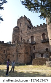 "Gondar Castle ""Camelot of Africa"" Exterior, Gondar, Ethiopia, August 12th, 2016"