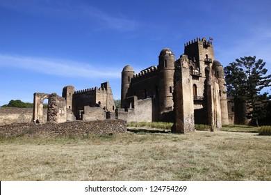 Gondar Castle's in Ethiopia