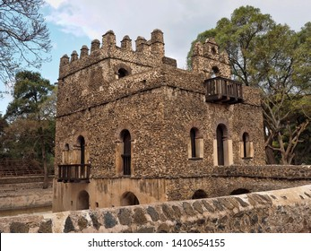 Gondar, Ethiopia, Fasilides Bath, where an annual ceremony takes place, where it is blessed and then open for bathing.
