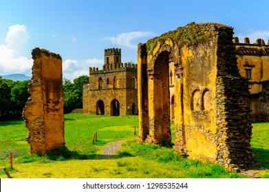 Gondar, Ethiopia, the old imperial capital and capital of the historic Begemder Province.