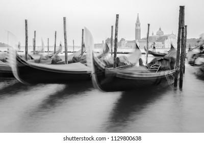 Gondola Boats Italy