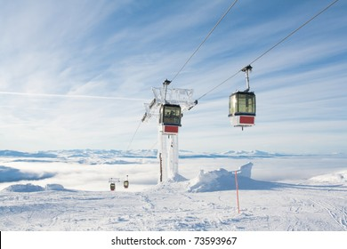 Gondola Lift Sweden Are