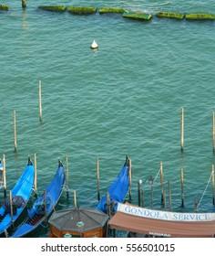 Gondola service in Venice, Italy