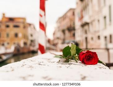 Gondola Sign in Venice Italy