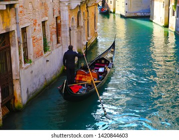 Gondola in the Venice, Italy