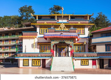 Gonjang Monastery is a buddhist monastery in Sikkim, India