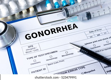 GONORRHEA test for gonorrhea , Gonorrhea - diagnosis , Drugs for gonorrhea treatment ,  Stop Gonorrhea