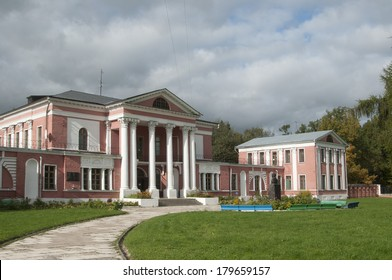 Gontcharov family estate in Jaropolets, Moscow region, Russia, main building