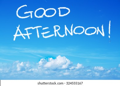 Royalty Free Good Afternoon Images Stock Photos Vectors