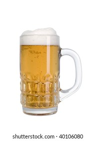 Good beer with foam up for everyone