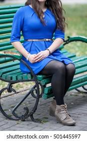 93702dea2a9 Outdoor Fashion Portrait Glamour Sportive Girltoned Stock Photo ...