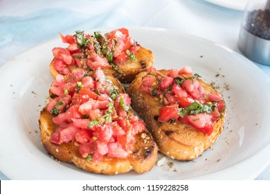 Good Greek bruschetta
