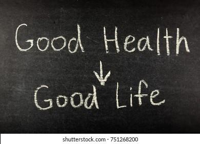 Good Health Good Life on Blackboard