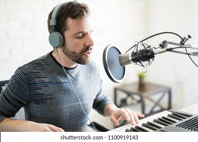 Similar Images, Stock Photos & Vectors of Duet singing in the