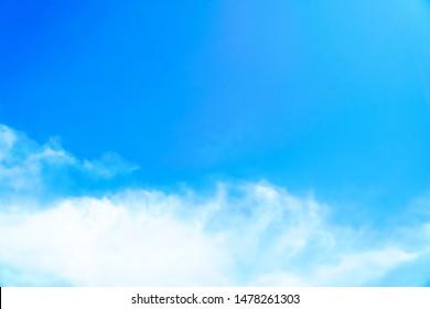 Good Morning background sky,Bright in Phuket Thailand