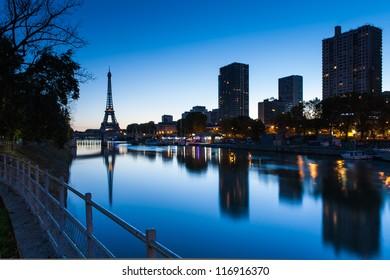Good morning Eiffel tower, Paris, France