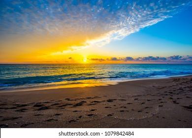 Good Morning on the Chastain Beach, Stuart, Florida
