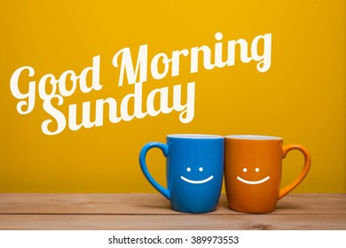 Good Morning Monday Coffee Cup Concept Stock Photo Edit Now