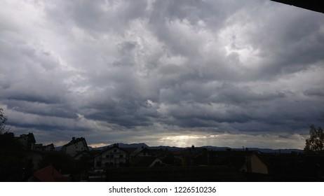 Good sky & cluds