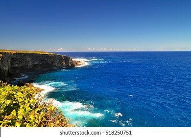 Good value on the island of Saipan. Banzai Cliff in Saipan.