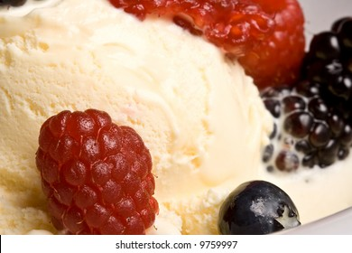 Good for you, and taste  good too.  fresh fruit great dessert