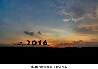 goodbye 2016 wallpaper backgroung for new year 2017