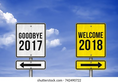 Goodbye 2017 and Welcome 2018