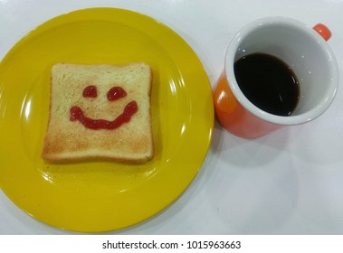 goodmorning breakfast with smile