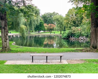 Goodwill Hunting Bench in Boston Public Garden