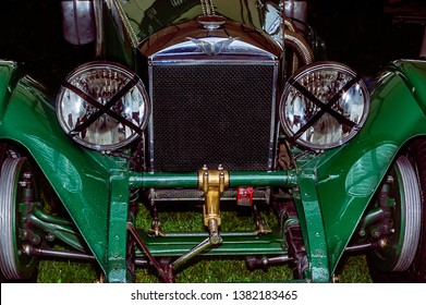 Goodwood, East Sussex, UK - September 08 2018: A 1930's Invicta track car on display at Goodwood Revival 2017
