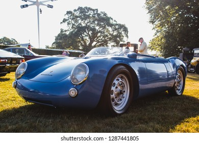 GOODWOOD, WEST SUSSEX/UK - JULY 12, 2018: Porsche 550 Spyder at Festival of Speed