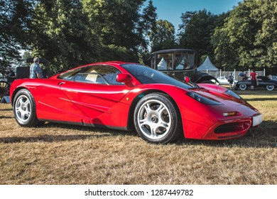 GOODWOOD, WEST SUSSEX/UK - JULY 12, 2018: McLaren F1 Festival of Speed