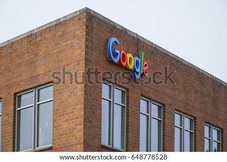 Google Maps Headquarter Seattle SEATTLE WASHINGTON Stock Photo (Edit ...