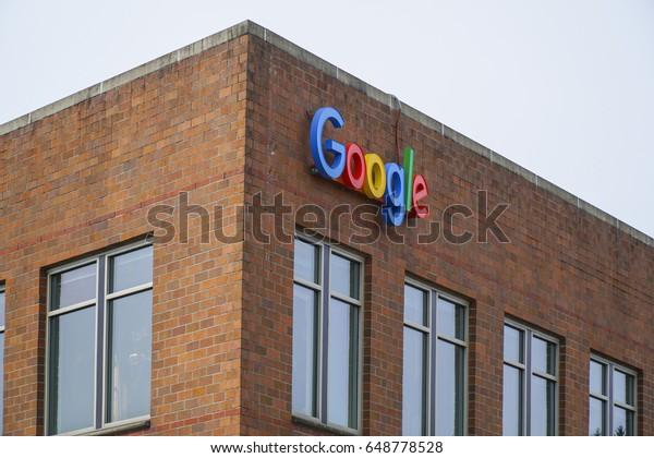 Google Maps Headquarter Seattle Seattle Washington Stock ...