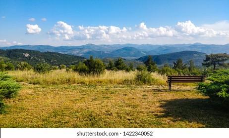 Goose Mountains in Balikesir, Turkey.