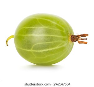 Gooseberry isolated on white background