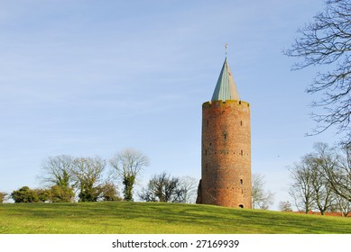 The goosetower was build in 1362 by King Valdemar Atterdag, the name comes from the golden Goose on the top.