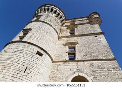GORDES, FRANCE, April 6, 2018 : The Castle of Gordes