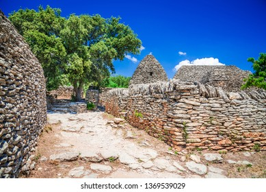Gordes, Vaucluse - Borie, a dry-stone structure in the Provence-Alpes-Cote d'Azur region of southeast France