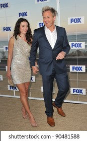 Gordon Ramsay & wife Tana at the Fox TV Summer 2011 All-Star Party at Gladstones Restaurant, Malibu. August 5, 2011  Malibu, CA Picture: Paul Smith / Featureflash