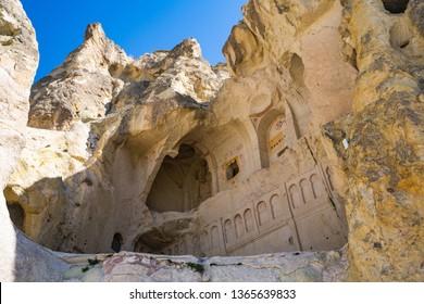 Goreme National Park and the Rock Sites of Cappadocia, volcanic landscape – UNESCO World Heritage Site, Nevsehir, TURKEY
