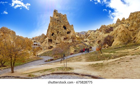 Goreme, open air museum which is UNESCO world heritage in Turkey