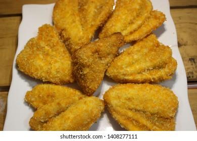 gorengan or pisang goreng crispy or fried banana cripsy is good for broken fasting - image