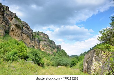 The gorge near Kislovodsk city, Northern Caucasus.