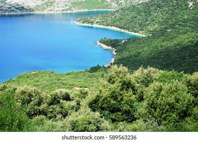 A gorgeous crystal clear bay