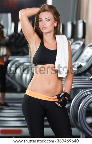 fit fitness Nude girl