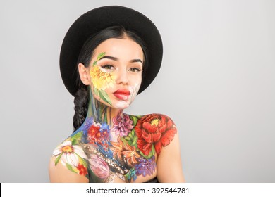 Cum young girls sexy body paint nude